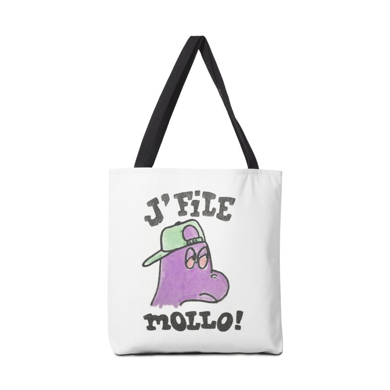 J'file mollo Accessories Tote Bag Bag by Chaudaille