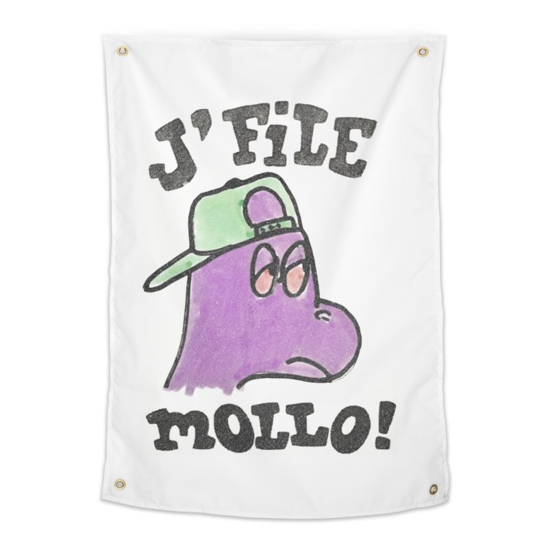J'file mollo Home Tapestry by Chaudaille