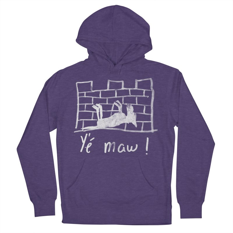 La guerre des tuques Women's French Terry Pullover Hoody by Chaudaille