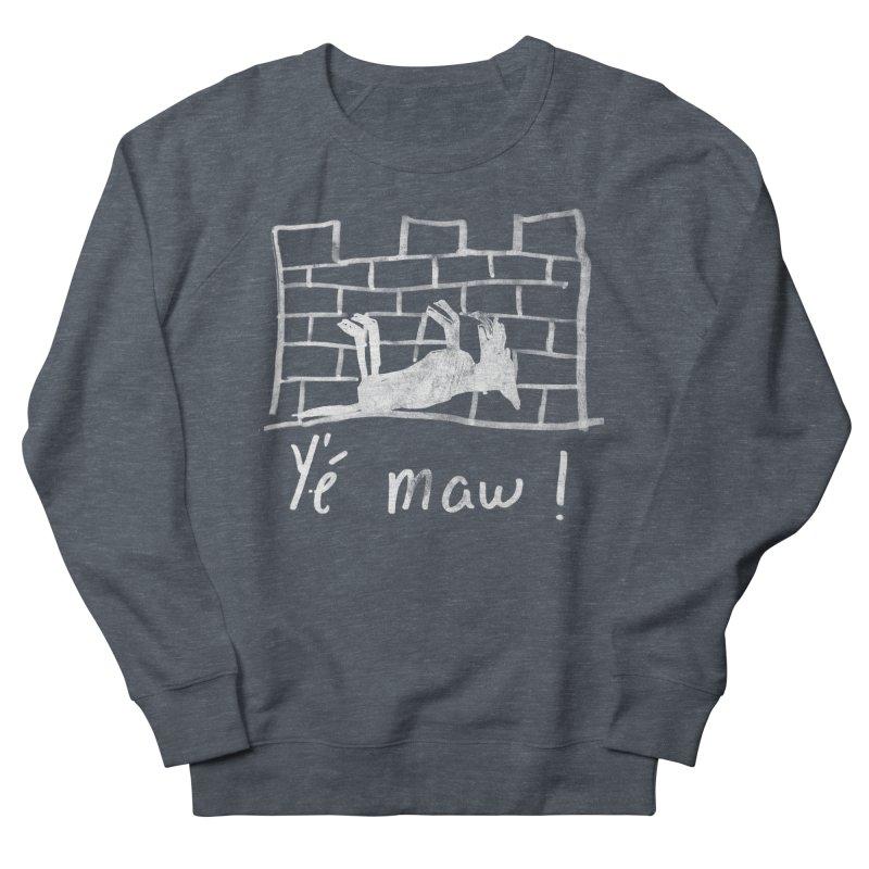 La guerre des tuques Men's French Terry Sweatshirt by Chaudaille