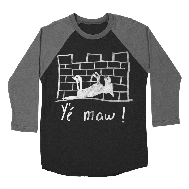 La guerre des tuques Men's Baseball Triblend T-Shirt by Chaudaille