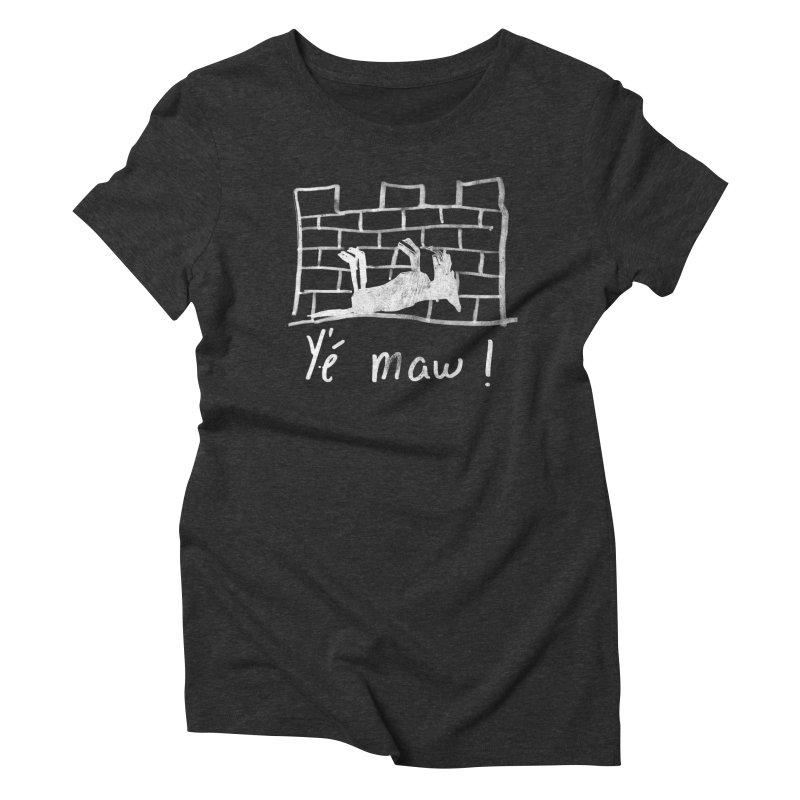 La guerre des tuques Women's Triblend T-Shirt by Chaudaille