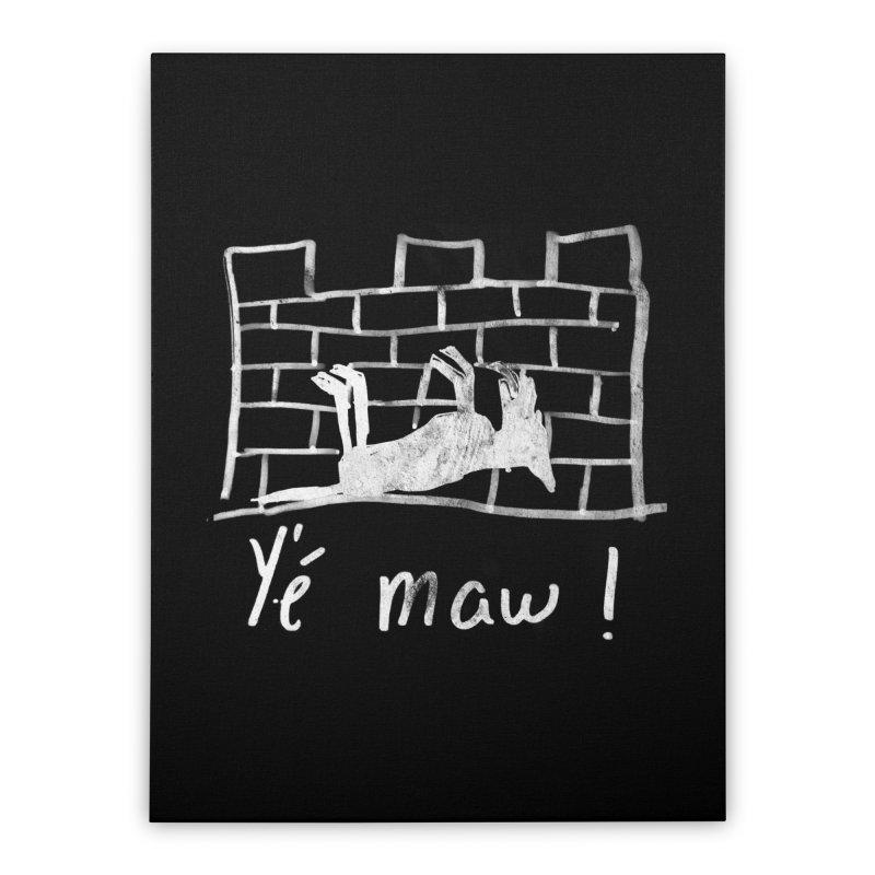 La guerre des tuques Home Stretched Canvas by Chaudaille