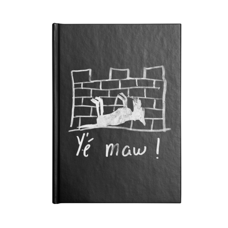 La guerre des tuques Accessories Lined Journal Notebook by Chaudaille