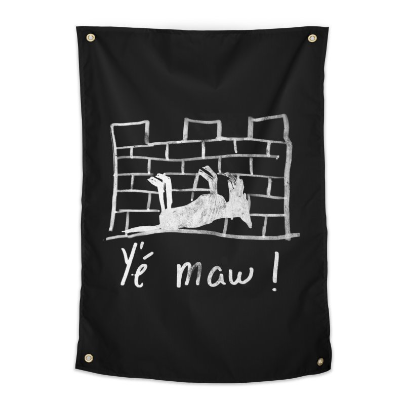 La guerre des tuques Home Tapestry by Chaudaille