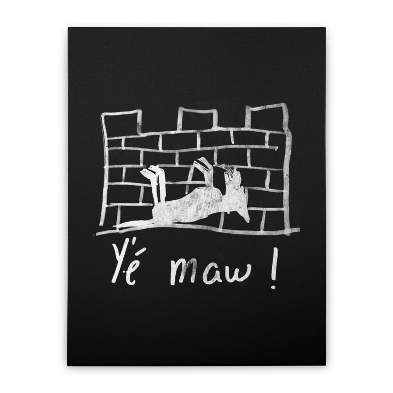 La guerre des tuques Home Stretched Canvas by Chaudaille