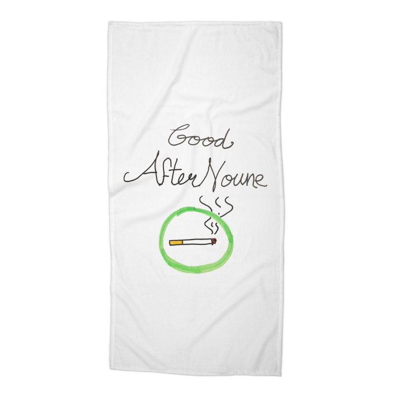 Good After Noune Accessories Beach Towel by Chaudaille