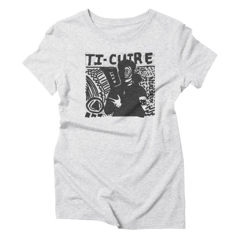 Ti-Cuir Women's T-Shirt by Chaudaille