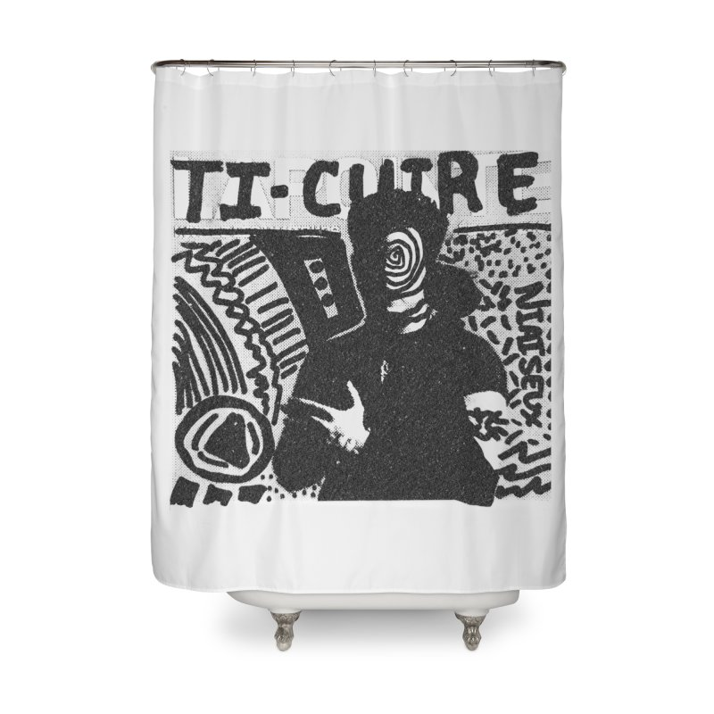 Ti-Cuir Home Shower Curtain by Chaudaille