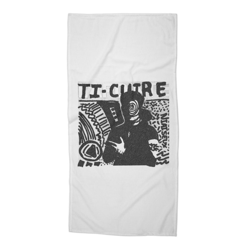 Ti-Cuir Accessories Beach Towel by Chaudaille
