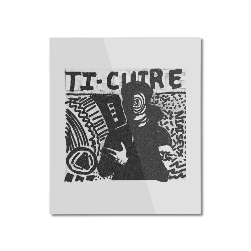 Ti-Cuir Home Mounted Aluminum Print by Chaudaille
