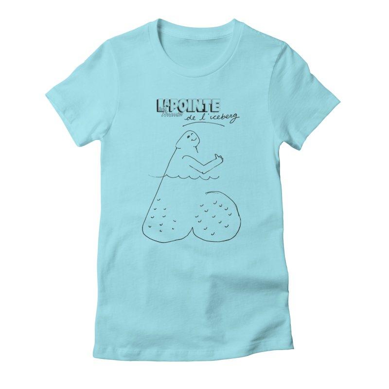Lapointe de l'iceberg Women's T-Shirt by Chaudaille