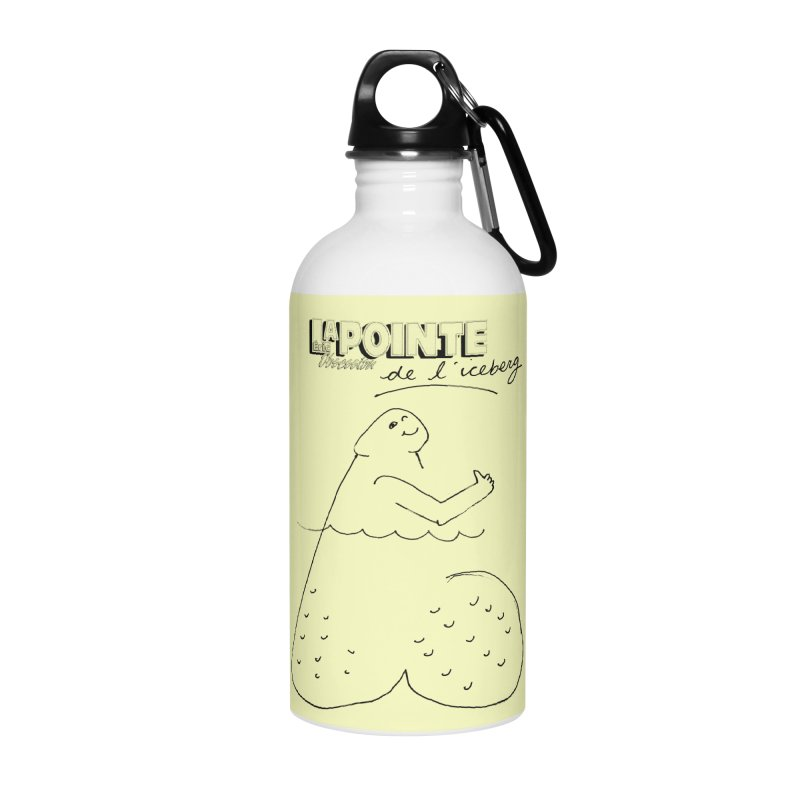 Lapointe de l'iceberg Accessories Water Bottle by Chaudaille