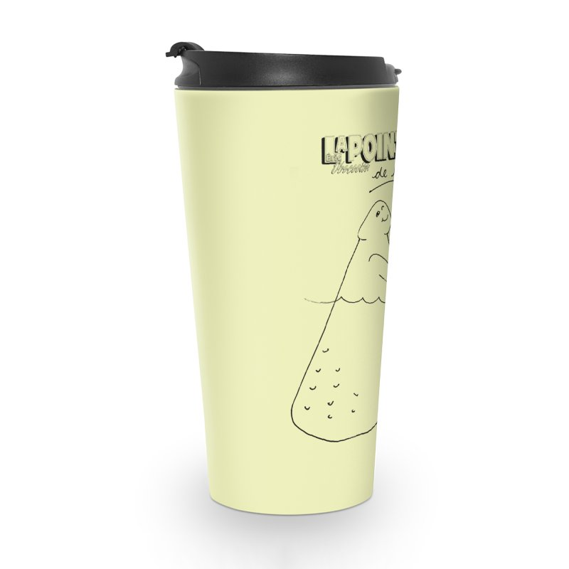 Lapointe de l'iceberg Accessories Travel Mug by Chaudaille