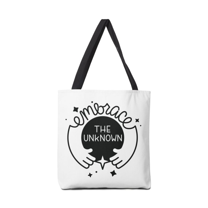 Embrace the Unknown Accessories Tote Bag Bag by Cheerfull Designs