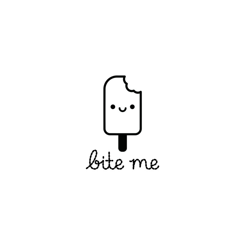 Bite Me Accessories Sticker by Cheerfull Designs