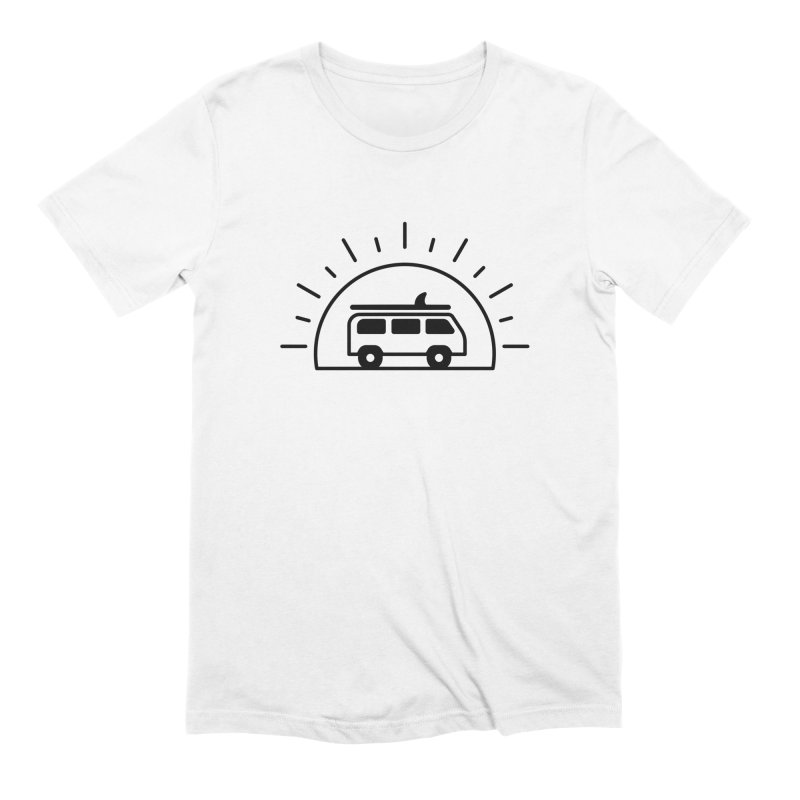 Van Life Men's Extra Soft T-Shirt by Cheerfull Designs