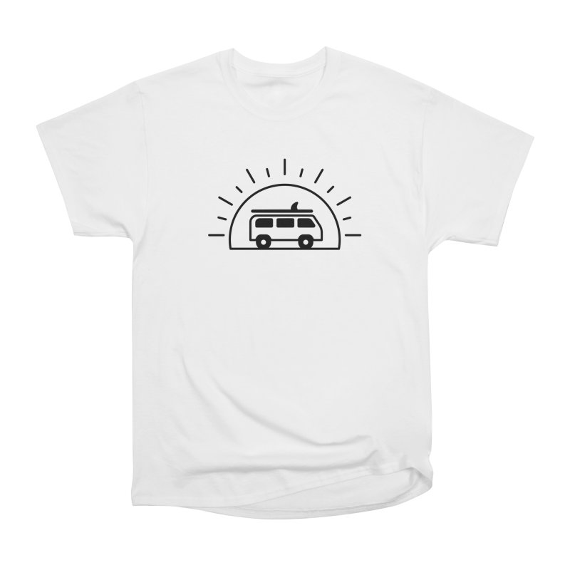 Van Life Men's Heavyweight T-Shirt by Cheerfull Designs