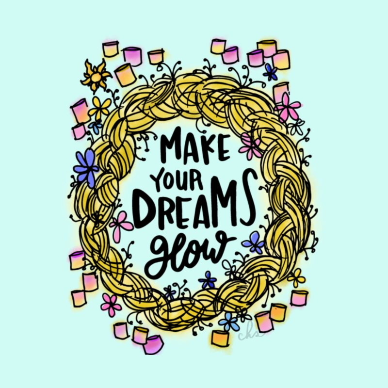 Make Your Dreams Glow - Mint by Cheery Human Studios
