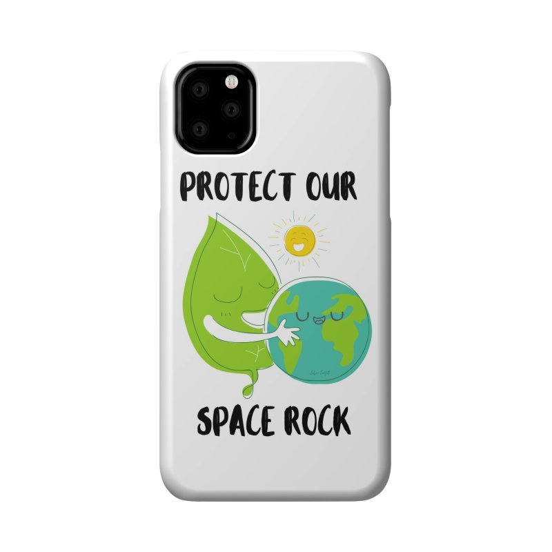 Protect Our Space Rock Accessories Phone Case by The Emotional Archeologist