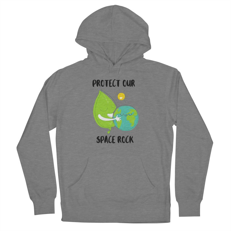 Protect Our Space Rock Men's French Terry Pullover Hoody by The Emotional Archeologist