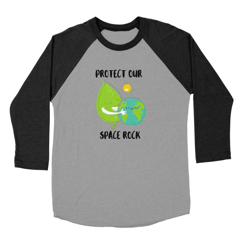 Protect Our Space Rock Men's Longsleeve T-Shirt by The Emotional Archeologist