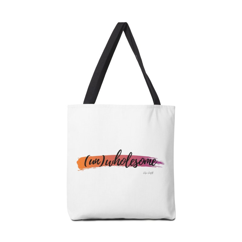 (Un)Wholesome Accessories Tote Bag Bag by The Emotional Archeologist