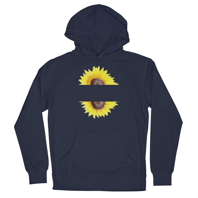 Blossom in the Face of Insecurity Men's Pullover Hoody by The Emotional Archeologist
