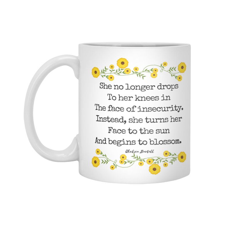 Blosom in Insecurity Accessories Standard Mug by The Emotional Archeologist