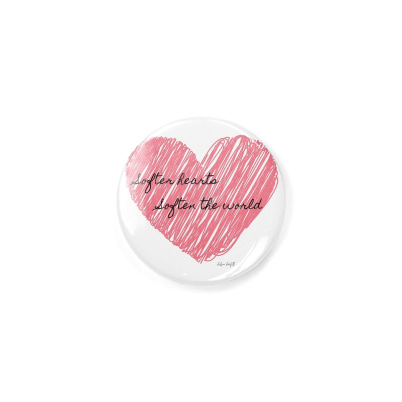 Softer Hearts Accessories Button by The Emotional Archeologist