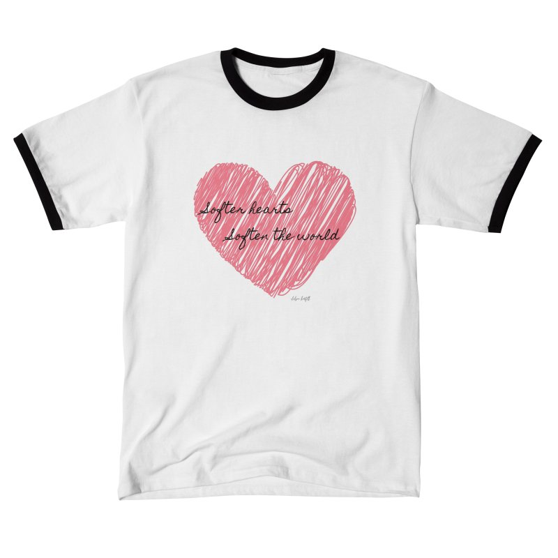 Softer Hearts Men's T-Shirt by The Emotional Archeologist