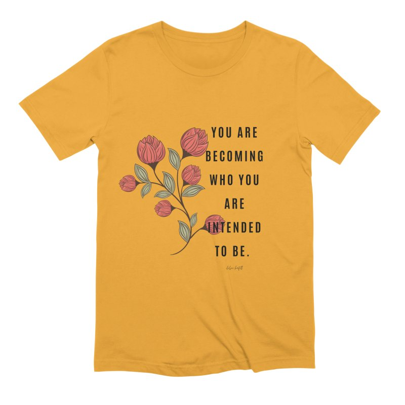 Becoming Men's Extra Soft T-Shirt by The Emotional Archeologist