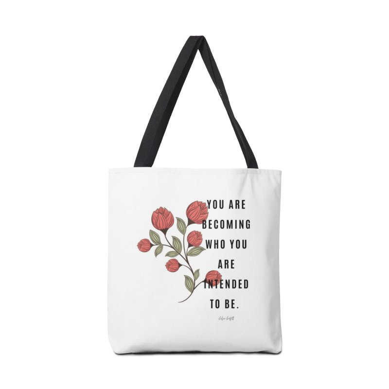 Becoming Accessories Tote Bag Bag by The Emotional Archeologist