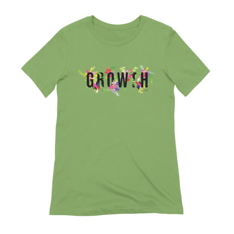 Growth Women's Extra Soft T-Shirt by The Emotional Archeologist