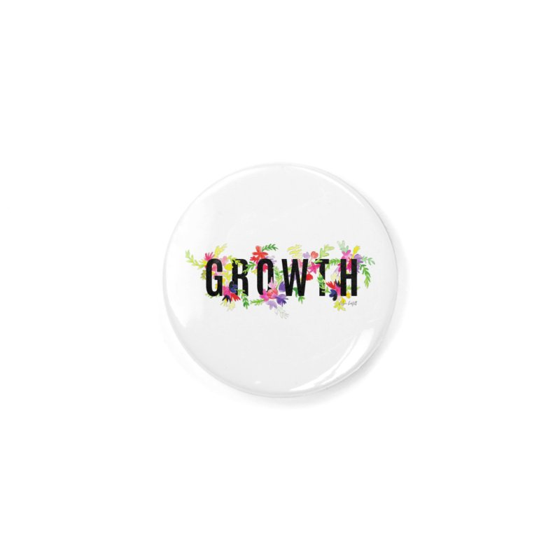 Growth Accessories Button by The Emotional Archeologist
