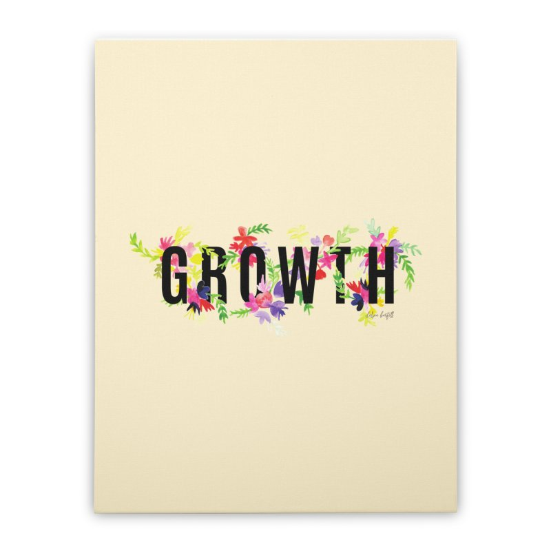 Growth Home Stretched Canvas by The Emotional Archeologist