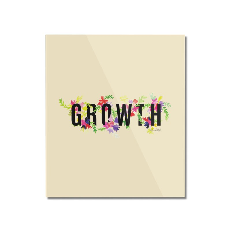 Growth Home Mounted Acrylic Print by The Emotional Archeologist