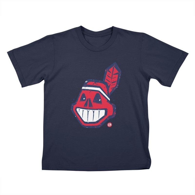 dead chief Kids T-Shirt by CHema Skandal!
