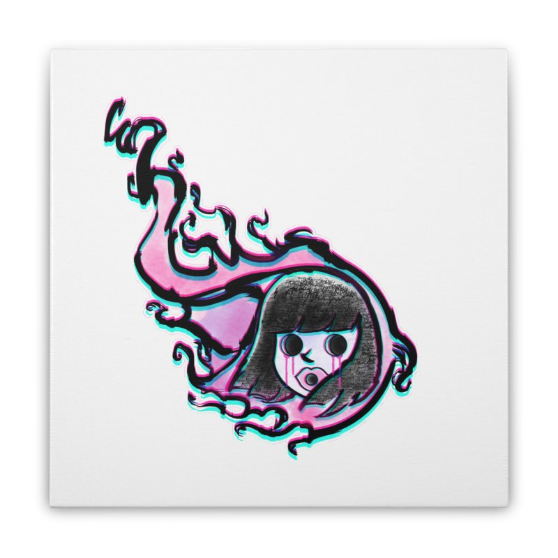 La Dead Mona Home Stretched Canvas by CANNIBAL OUTFITTERS by Chepita Ouyeah!