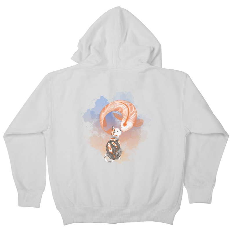 Love knows no boundaries Kids Zip-Up Hoody by cherished