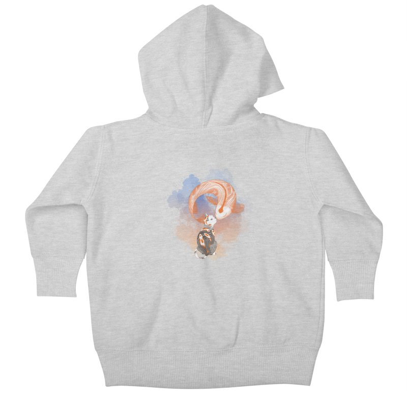 Love knows no boundaries Kids Baby Zip-Up Hoody by cherished