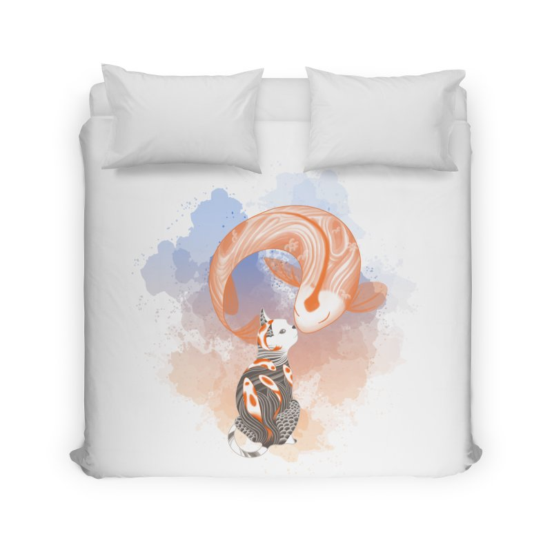 Love knows no boundaries Home Duvet by cherished
