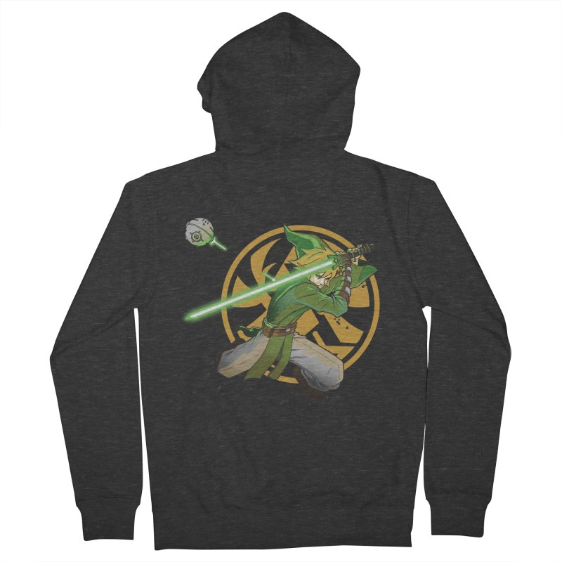 May Link be with you always Men's Zip-Up Hoody by cherished