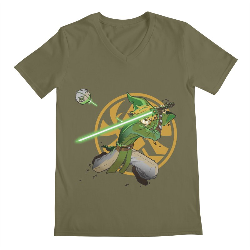 May Link be with you always Men's V-Neck by cherished