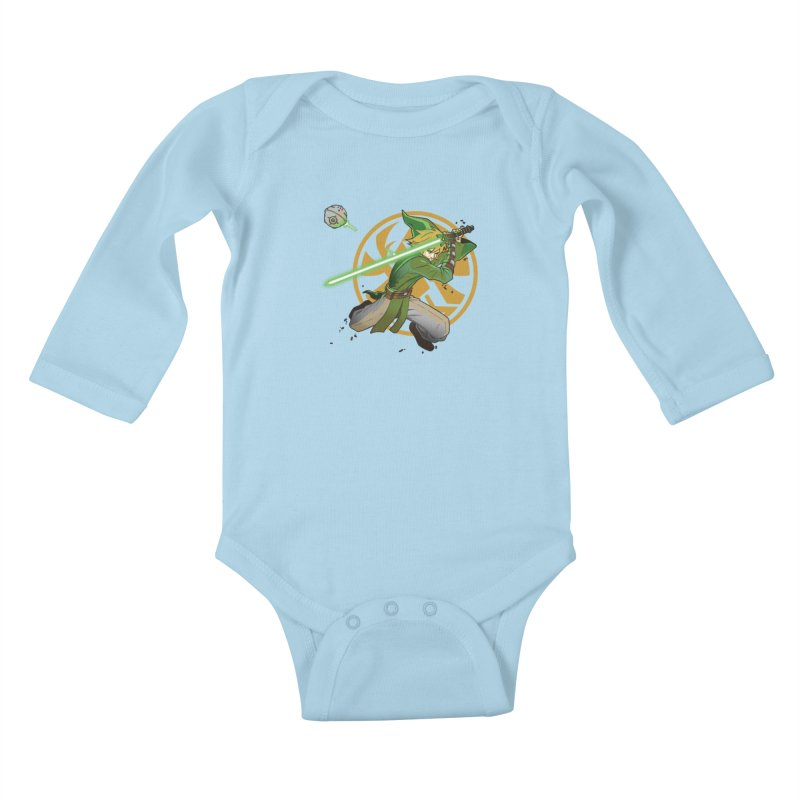 May Link be with you always Kids Baby Longsleeve Bodysuit by cherished