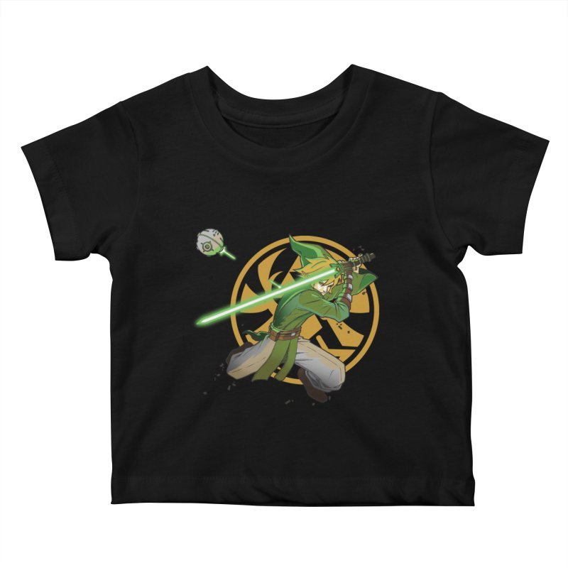 May Link be with you always Kids Baby T-Shirt by cherished