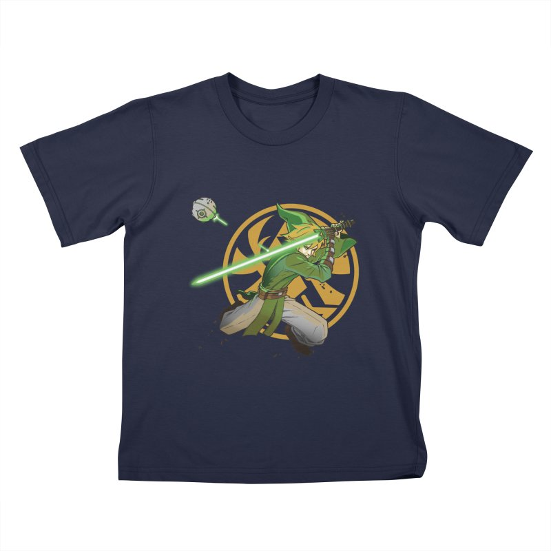 May Link be with you always Kids T-shirt by cherished