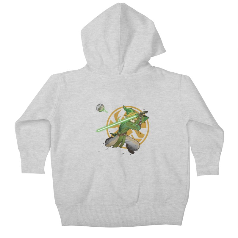 May Link be with you always Kids Baby Zip-Up Hoody by cherished