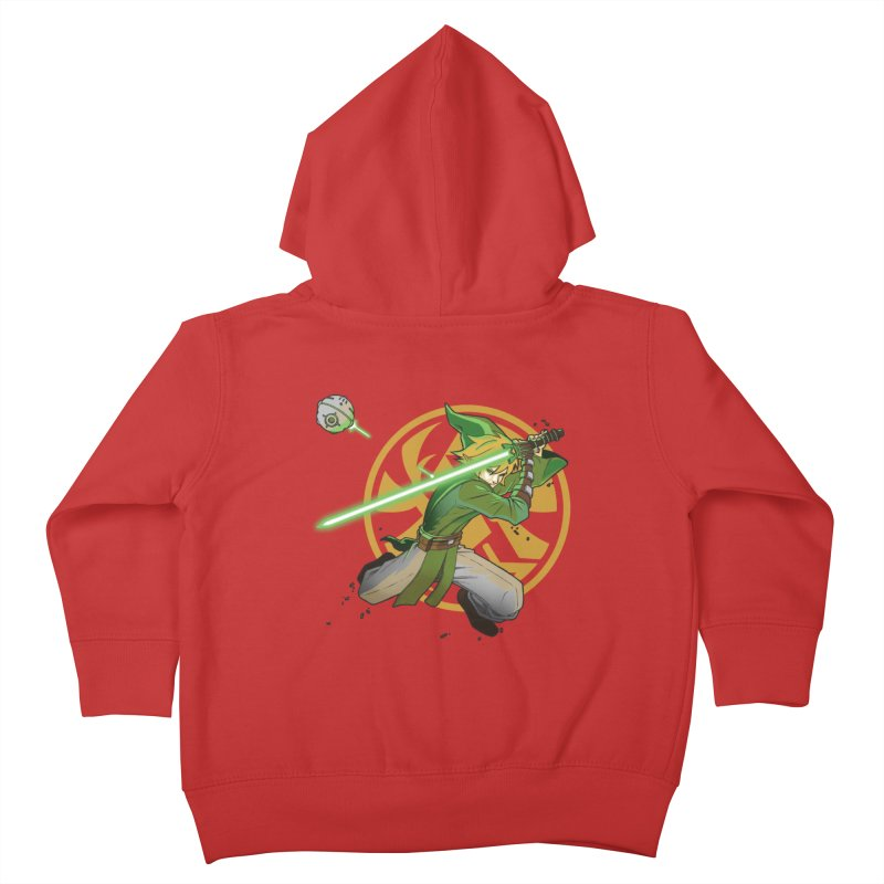 May Link be with you always Kids Toddler Zip-Up Hoody by cherished