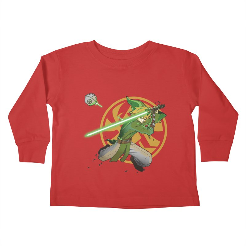 May Link be with you always Kids Toddler Longsleeve T-Shirt by cherished